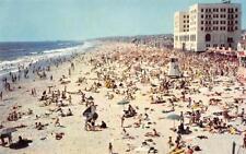 HERMOSA BEACH, CA Pier Avenue Beach Scene California ca 1950s Vintage Postcard