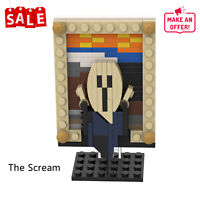 Building Blocks Painting The Scream Bricks 106 Pieces with Instruction for Kids