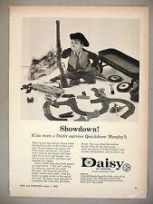 Daisy 694 Smoke/Bang Play Rifle PRINT AD - 1967 ~ toy