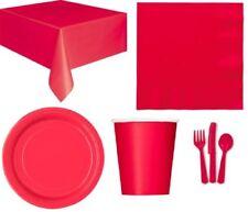 Art de la table de fête rouge Amscan pour la cuisine