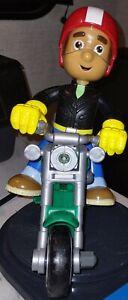 Handy Manny Fix It Right Figure With Talking Motorcycle 2008 Mattel Disney EUC