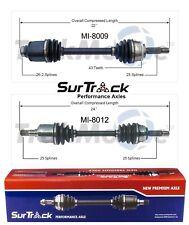 For Mitsubishi Galant Talon 2000 GTX AWD 2 Front CV Axle Shafts SurTrack Set