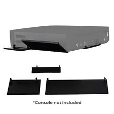 New Nintendo Wii Console Replacement Door Cover Set - Black
