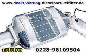Dieselpartikelfilter Deaktivieren Bmw 5er F10 F11 Deaktivierung DPF off AGR