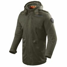 GIACCA PARKA REV'IT MOTO RONSON VERDE SCURO JACKET REVIT DARK GREEN IMPERMEABILE