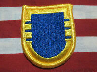 US Army 404th Civil Affairs Bn Airborne beret flash patch #2B m//e