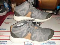Mens Timberland Flyroam Go Chukka Boots Grey Mid Top Sneaker Trail hiking sz 8.5