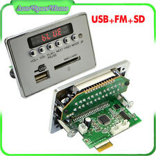 12V Car Bluetooth Wireless MP3 Decoder Board Audio Module USB SD TF FM Radio New