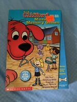 NEW Clifford the Big Red Dog : Musical Memory Games -for PC or MAC BRAND NEW