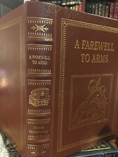 Easton Press: A Farewell to Arms: Ernest Hemingway: Italy: World War I