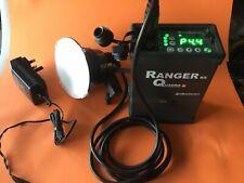 Elinchrom Quadra Ranger RX battery pack + A flash head set kit complete Tested