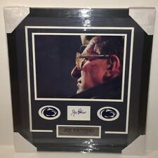 Penn State JOE PATERNO Signed Autographed FRAMED Football Cut COA! WE ARE..!!