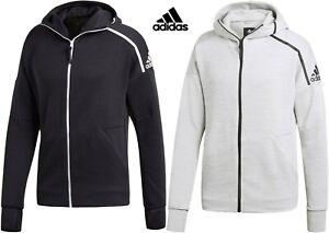 Adidas Mens Z.N.E. HD FR Fast Release Zip Hoodie track gym - XXL