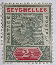 Travelstamps: SEYCHELLES STAMPS SG#1 Mint Orig Gum Never Hinged 2 cents