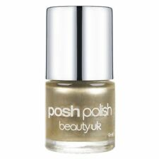 Beauty UK Posh Polish Nail Varnish Lacquer Shimmer Metallic 1 OLYMPIC GOLD