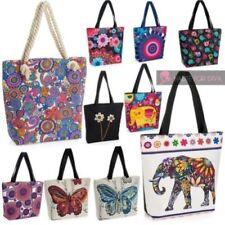 Bolsos de mujer de color principal multicolor de lona