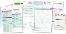 50 Custom Full Color Business Forms, Invoices, Work Orders - 2 Part 5.5 x 8.5