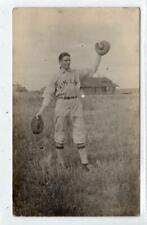 Picture postcard of a baseball player (C41761)