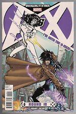 AVENGERS VS. X-MEN ROUND 10  VARIANT Spider-Woman Gambit NM