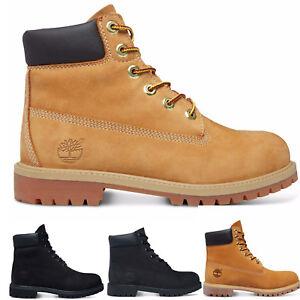 Timberland - 6-Inch Premium Waterproof Boots Herren Damen Kinder Freizeit Boot