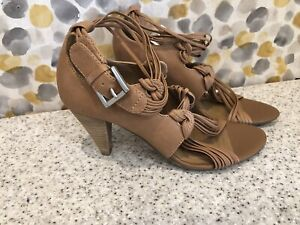 Clarks Softwear Ladies Tan Leather Shoes Size 4.5 Fab Condition
