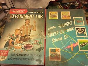 Gilbert 50's Chemistry Experiment Lab #12054 Plus Handy Andy