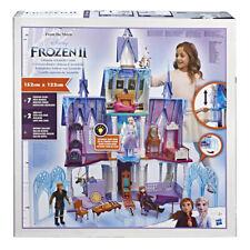 Frozen II Castillo Supremo de Arendelle + muñecas Anna, Elsa, Kristoff,Sven, ...