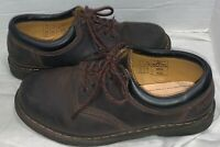 Dr. Doc Martens 8053 Brown Nappa Leather Oxford Shoes US Mens 10 Bouncing Soles