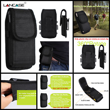 Phone Belt Pouch Case Vertical Holster Clip Universal Flip Holder for Cell Phone