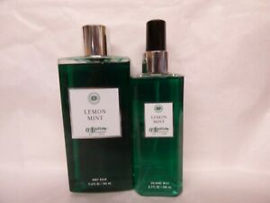 Bath & Body Works CO Bigelow LEMON  MINT shower gel body wash COLOGNE MIST