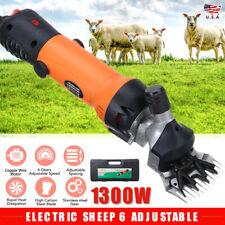 Electric Sheep Goat Clipper Groomer Shears Shearing Animal Machine 1300w Hot