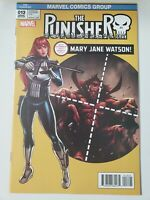 THE PUNISHER #13 (2017) MARVEL COMICS MARY JANE WATSON VARIANT COVER ART! NM
