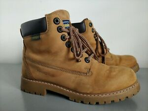 Wrangler Explorer Tan Suede Thinsulate Thermal Insulation Ankle Boots Size UK 7