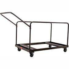 Table Cart For 48' And 60' Round Folding Tables Holds 10