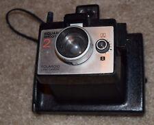 Square Shooter 2 Black Polaroid Vintage Camera