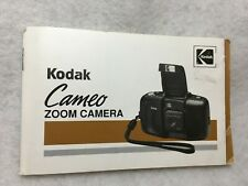 Oem Kodak Cameo Zoom Camera Owner's Manual Instruction Guide Book in E & S 1993