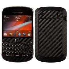 Skinomi Carbon Fiber Black Phone Skin+Screen Protector for BlackBerry Bold 9900