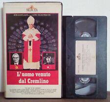 VHS FILM Ita Drammatico L'UOMO VENUTO DAL CREMLINO ex nolo no dvd(VHS17)