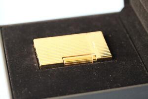 S.T. Dupont Lighter / Feuerzeug Linie 2 - Yellow Gold - NEU -Box
