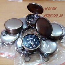 Antique Brass Lid Compass 45 mm Lot Of 10 Pcs Marine Collectible Handmade Decor