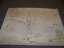 VINTAGE..VOUGHT SBU-1 WYLAM LARGE PRINT..3-VIEWS/DETAILS.RARE! (30H)