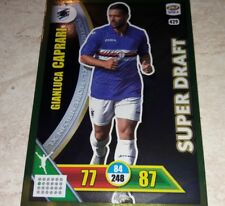 CARD ADRENALYN CALCIATORI PANINI 2017/18 SAMPDORIA CAPRARI 429 SUPER DRAFT