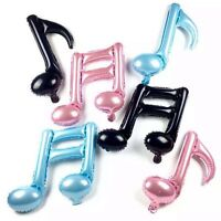 Various Color Decoration Birthday Foil Balloon Wedding Party Musical Note