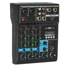 More details for portable bluetooth music mixer sound mixing console reverb effect for ktv stage