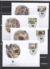 Afghanistan 2004 - FDC - Dieren / Animals / Tiere  (WWF / WNF)