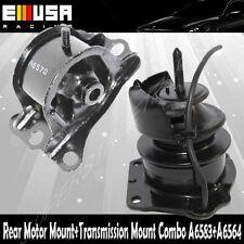 2PCS Rear Motor&Trans Mount Kit for 98-99 Accourd 2.3L SOHC Auto
