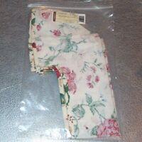 Longaberger Heirloom Floral HOUSEHOLD CADDY Basket Liner ~ Brand New in Bag!