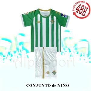 Real Betis 1º Equipación NIÑO 2021 ENTREGA URGENTE