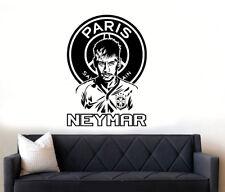 Neymar Jr Star du football paris PSG Wall Art Autocollant Décalque