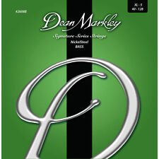 Dean Markley 2608B NickelSteel BASS Guitar Strings XL-5-string set 40-128